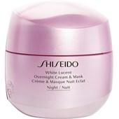 Shiseido - Moisturizer - White Lucent Overnight Cream & Mask