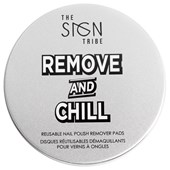 The SIGN Tribe - Nail care - Remove and Chill Reusable Nail Polish Remover Pads