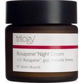Trilogy - Moisturiser - Rosapene Night Cream
