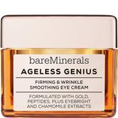 bareMinerals - Ögonvård - Smoothing Eye Cream Ageless Genius Firming & Wrinkle