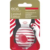 eos - Läppar - Peppermint Cream Visibly Soft Lip Balm