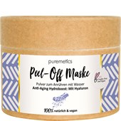 puremetics - Peelings & Masks - Anti-Aging Hydroboost: Med Hyaluron Peel-Off ansiktsmasker