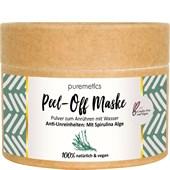 puremetics - Peelings & Masks - Anti-akne: Med spirulina-alger Peel-Off ansiktsmasker