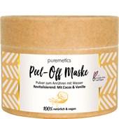 puremetics - Peelings & Masks - Revitaliserande: Med kokos & vanilj Peel-Off ansiktsmasker