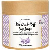 puremetics - Peelings & Masks - Saltpeeling Fikon Jasmin No15 3-i-1 Dusch-Fluff