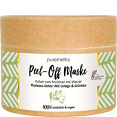 puremetics - Peelings & Masks - Thalasso-Detox: Med ginkgo & grönt te Peel-Off ansiktsmasker