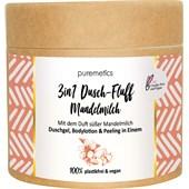 puremetics - Peelings & Masks - Sockerpeeling mandelmjölk No2 3-i-1 Dusch-Fluff