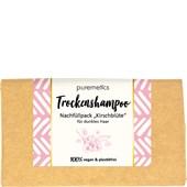 puremetics - Shampoo - För mörkt hår Torrschampo körsbärsblomma