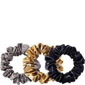 slip - Hair Care - Pure Silk Large Hair Scrunchies Leopard Mix