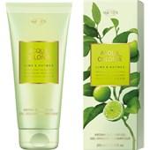 4711 Acqua Colonia - Lime & Nutmeg - Aroma Shower Gel