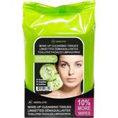 Absolute New York - Ansiktsvård - Make-up Cleansing Tissues Cucumber