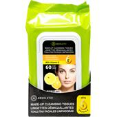 Absolute New York - Ansiktsvård - Make-up Cleansing Tissues Vitamin C