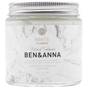 BEN&ANNA - Toothpaste in a glass - Toothpaste White with Fluoride
