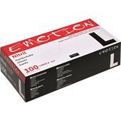 Efalock Professional - Förbrukningsmaterial - Svart Nitril Handske Puderfri
