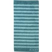 JOOP! - Classic Stripes - Handduk turkos