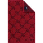 JOOP! - Cornflower - Asciugamano per gli ospiti rubino