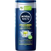 Nivea - Kroppsvård - Nivea Men Power Fresh Duschkräm