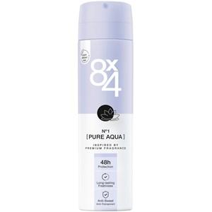 8x4 - Kvinnor - Deodorant Spray No. 1 Pure Aqua