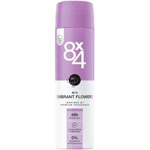 8x4 - Kvinnor - Deodorant Spray No. 4 Vibrant Flower