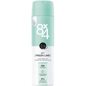 8x4 - Kvinnor - Deodorant Spray No. 7 Fresh Lime