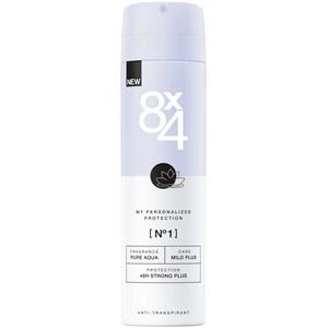 8x4 - Kvinnor - Deodorant Spray Nr. 1 Pure Aqua