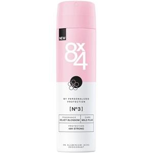 8x4 - Kvinnor - Deodorant Spray Nr. 3 Velvet Blossom