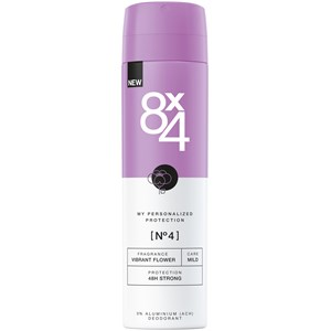 8x4 - Kvinnor - Deodorant Spray Nr. 4 Vibrant Flower