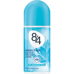 8x4 - Kvinnor - Ocean Fresh Deodorant Roll-On