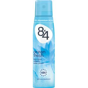 8x4 - Kvinnor - Ocean Fresh Deodorant Spray