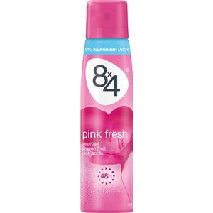 8x4 - Kvinnor - Pink Fresh Deodorant Spray