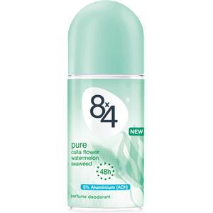 8x4 - Kvinnor - Pure Deodorant Roll-On