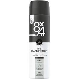 8x4 - Herrar - Deodorant Spray No. 12 Dark Forest