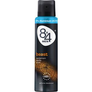 8x4 - Herrar - Men Beast Deodorant Spray