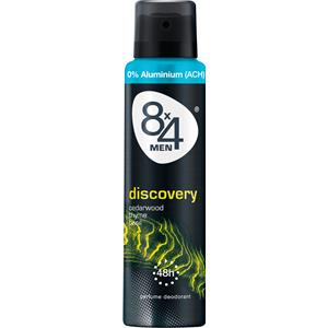 8x4 - Herrar - Men Discovery Deodorant Spray
