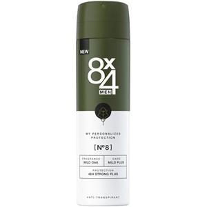 8x4 - Herrar - Deodorant Spray Nr. 8 Wild Oak