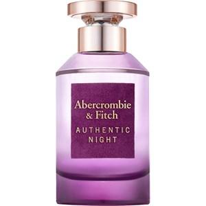 Abercrombie & Fitch - Authentic Night Woman - Eau de Parfum Spray