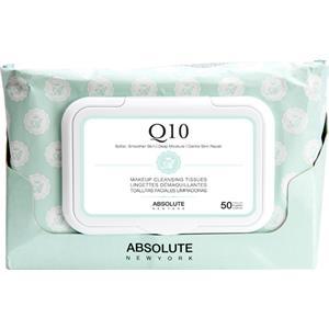 Absolute New York - Ansiktsvård - Make-up Cleansing Tissues Q10