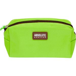 Absolute New York - Sminkväskor - Green Microfiber Cosmetic Bag