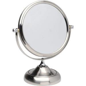 ERBE - Sminkspegel - sminkspegel, 10 x zoom, metallglansig, 15 cm