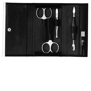 ERBE - Manicure Etuis - Bestseller-etui, 5 delar, svart