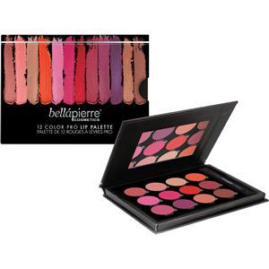 Bellápierre Cosmetics - Läppar - 12 Color Pro Lip Palette
