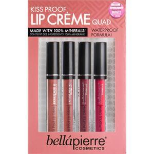 Bellápierre Cosmetics - Läppar - Kiss Proof Lip Cremes Quad
