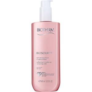 Biotherm - Biosource - Softening & Make-up Removing Milk för torr hy