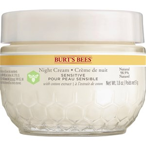 Burt's Bees - Ansikte - Sensitive Night Cream