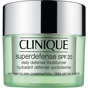 Clinique - Återfuktande hudvård - hudtyp 1/2 - torr hy till blandhy Superdefense SPF 20 Daily Moisturizer