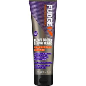 Fudge - Shampoos - Clean Blonde Damage Rewind Violet-Toning Shampoo