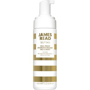James Read - Self-tanners - Face & Body Fool-Proof Bronzing Mousse