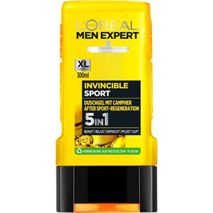 L'Oréal Paris Men Expert - Duschgeler - Invincible Sport 5 in 1 Camphor Shower Gel