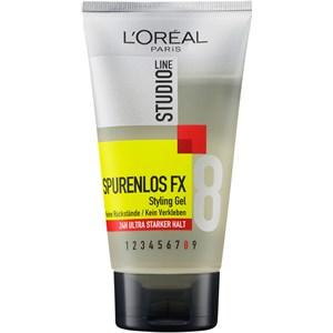 L'Oréal Paris Men Expert - Hårstyling - Osynlig FX Styling Gel 24h ultrastark stadga