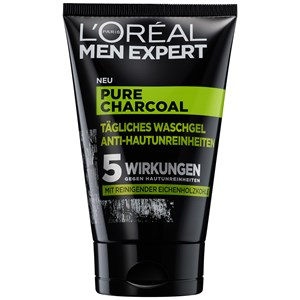 L'Oréal Paris Men Expert - Pure Charcoal - Rengöringsgel anti-akne